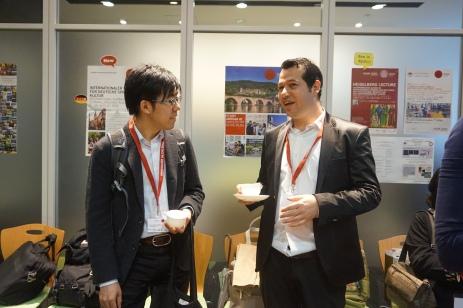 Reception 5 (Dr. A. Yamamoto & Dr. W. Abuillan)