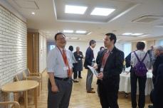 Reception 2 (Prof. M. Tanaka & Dr. W. Abuillan)
